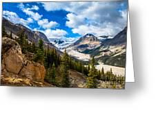Payto Lake Glacier  Greeting Card by Chris Heitstuman