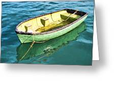 Pea-green Boat - Impressions Greeting Card