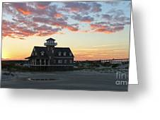 Oregon Inlet Life Saving Station 2693 Greeting Card