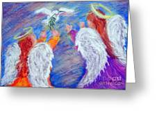 Peace Angels Greeting Card