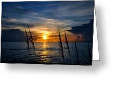 God Is The Sun Greeting Card