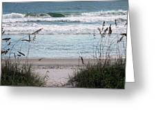 Peace At The Beach Greeting Card