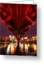 Peace Bridge 2 Greeting Card
