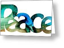 Peace Full 13 Greeting Card