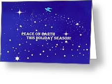 Peace On Earth Card Greeting Card