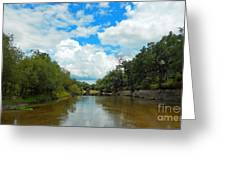 Peace River 4 Greeting Card