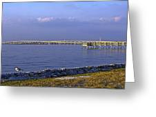 Peace River Bridge Greeting Card