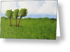 Peace River Prairie Greeting Card