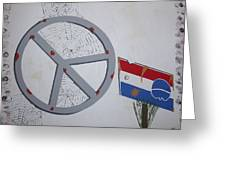 Peace Sells But Who's Buying Greeting Card