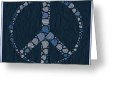 Peace Symbol Design - Bld01t01   Greeting Card