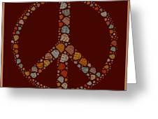 Peace Symbol Design - S05d Greeting Card