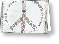 Peace Symbol Design - S76at02 Greeting Card