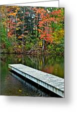 Peaceful Autumn Day Greeting Card