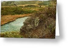 Peaceful Estuary In Carmel Greeting Card
