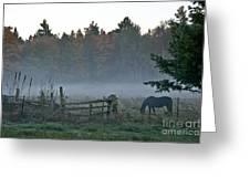 Peaceful Farm Scene Greeting Card