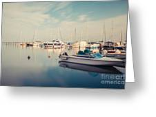Peaceful Harbour Greeting Card