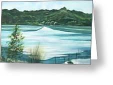 Peaceful Lake Greeting Card