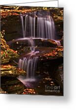 Peaceful Little Falls Greeting Card