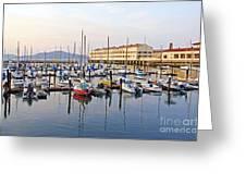 Peaceful Marina Greeting Card