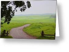 Peaceful Passage  Greeting Card