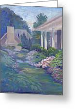 Peaceful Portico Greeting Card