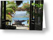Peaceful Roatan Greeting Card