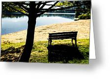 Peaceful Shadows Greeting Card