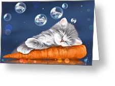 Peaceful Sleep Greeting Card