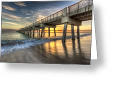 Peaceful Surf Greeting Card