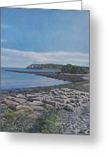 Peaceful View From Peaks Island Me Greeting Card