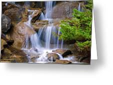 Peaceful Waterfall Greeting Card