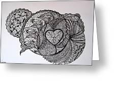 Peacefull Earth Greeting Card