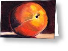 Peach 1 Greeting Card
