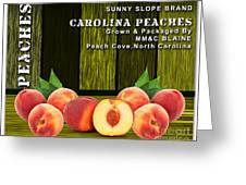 Peach Farm Greeting Card
