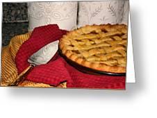 Peach Pie Greeting Card