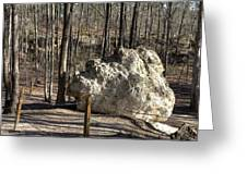 Peach Tree Rock-6 Greeting Card