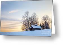 Peacham Sugarhouse Greeting Card