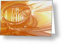 Peaches N' Cream Greeting Card