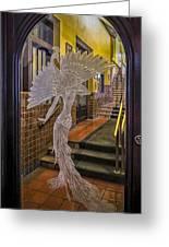 Peacock Room Door Greeting Card