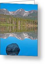 Peak Reflection Greeting Card