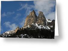 Peaks In The North Cascades Greeting Card