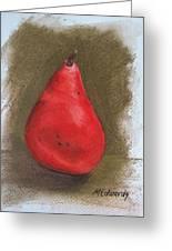Pear Study 2 Greeting Card