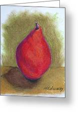 Pear Study 3 Greeting Card