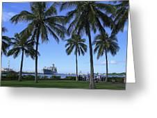 Pearl Harbor Hawaii Greeting Card