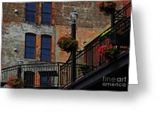 Pearl Street Grill Greeting Card