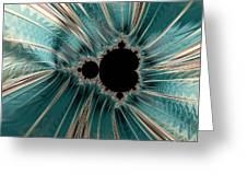 Pearly Mandelbrot Greeting Card