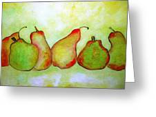 Pears 2 Greeting Card