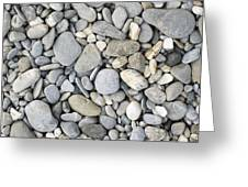 Pebble Background Greeting Card