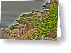 Pebble Beach 3 Greeting Card