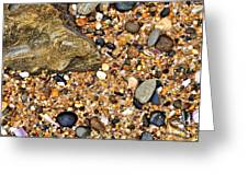Pebbles And Sand Greeting Card